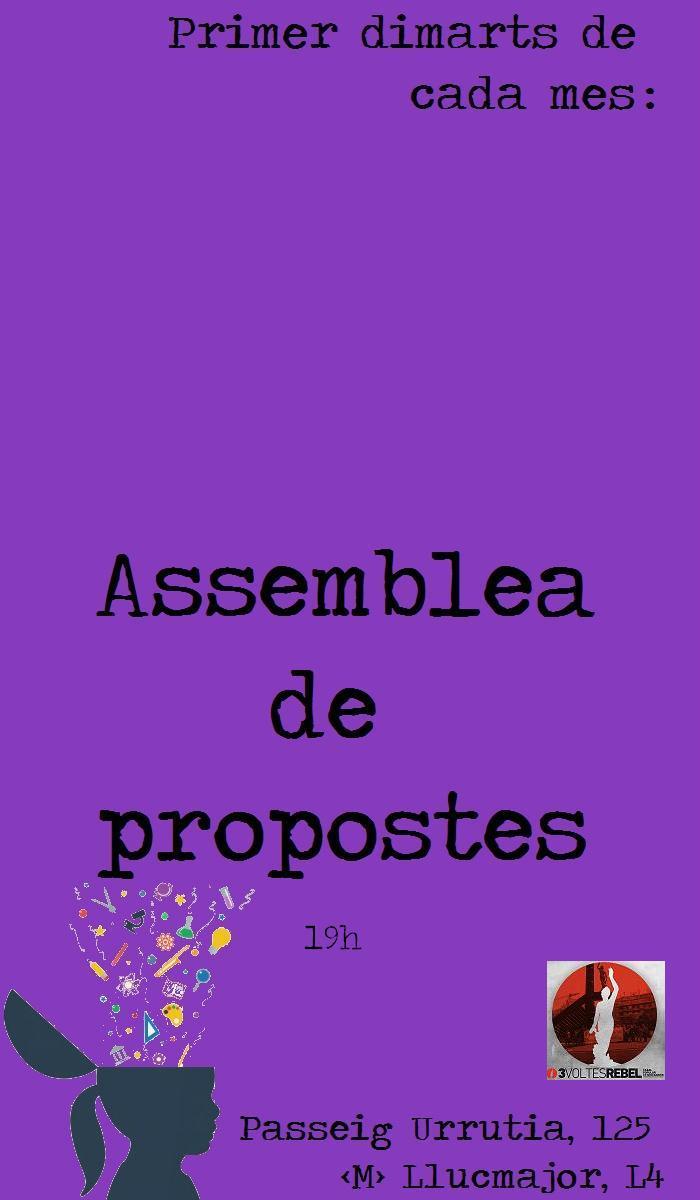 Assemblea de propostes